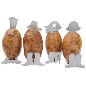 Charcoal Companion aardappel mannetjes
