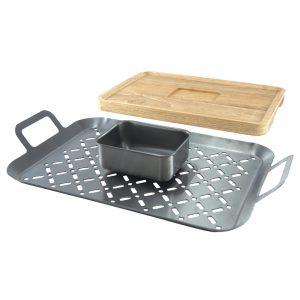 Charcoal Companion fondue grillset