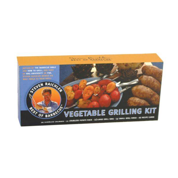 Steven Raichlen groenten grill kit
