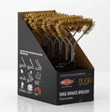 "12"" Brass Brush Boxed 6"