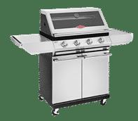 2000S Series - 4 Bnr BBQ & Cabinet S/Bnr Trolley